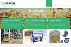 Conception site internet agriprobe.fr