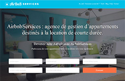 Conception site internet airbnbservices.fr