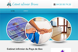 Conception site internet infirmiere-paysdegex.com