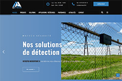 Conception site internet matech-securite.fr