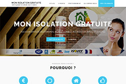 Conception site internet monenergiegratuite.fr