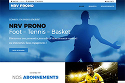 Conception site internet nrvprono.fr