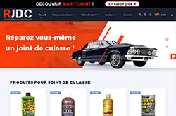 Site internet e-commerce mecanique automobile